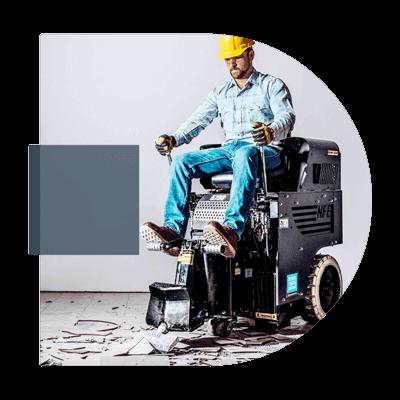 décolleuses de revetement de sol national flooring equipment